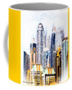 City Abstract Coffee Mug
