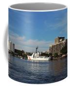 City Across The River Coffee Mug