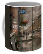 City - Amsterdam Ny -  Call 666 For Taxi 1941 Coffee Mug