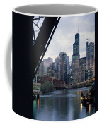 City At The Waterfront, Chicago River Coffee Mug