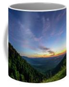 City Below The Mountains Coffee Mug