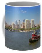 City - Camden Nj - The City Of Philadelphia Coffee Mug