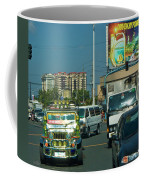 City Driving Coffee Mug