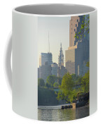 City Hall From The Schuylkill River Coffee Mug