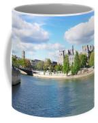 Seine River Embankment Coffee Mug