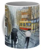 City In Rain Coffee Mug