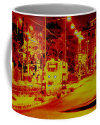City In Red Coffee Mug