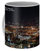 City Lights Over Bham, Al Coffee Mug