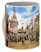 City - Ny - The Great Steeplechase 1903 Coffee Mug