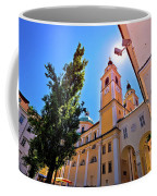 City Of Ljubljana Church And Square View Coffee Mug