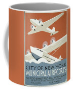 City Of New York Municipal Airports Coffee Mug