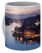 City Of Porto In Portugal At Dusk Coffee Mug