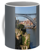 City Of Porto In Portugal Picturesque Scenery Coffee Mug