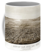 City Of San Jose County Of Santa Clara 1875 Coffee Mug
