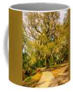 City Park New Orleans - Paint Coffee Mug