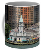 City Pier A And Pier A Harbor House In New York City Coffee Mug
