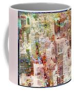 City Snowstorm Coffee Mug