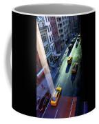 City Street Aerial New York Coffee Mug