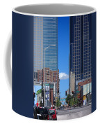 City Street Canyon Coffee Mug by Steve Karol