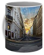 City Street View Coffee Mug