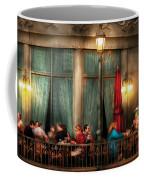 City - Vegas - Paris - The Outdoor Cafe  Coffee Mug