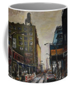 City With Barrels Coffee Mug