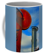 Cityscape Of Frankfurt. Coffee Mug