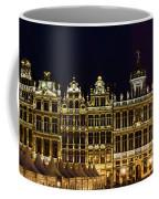 Cityscape In Brussels Europe - Landmark Of Brussels, Belgium Coffee Mug