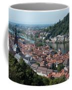Cityscape  Of Heidelberg In Germany Coffee Mug