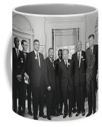 Civil Rights Leaders And President Kennedy 1963 Coffee Mug