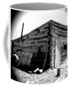 Civil War Cabin 1 Army Heritage Education Center Coffee Mug