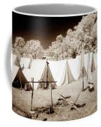 Civil War Encampment - Infrared Coffee Mug