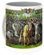 Civil War Generals And Statesman Coffee Mug by War Is Hell Store