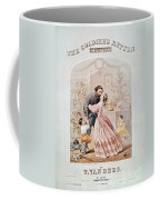 Civil War: Songsheet Coffee Mug