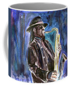 Clarence Clemons Coffee Mug by Clara Sue Beym