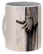 Clasped Hands - Sculpture Garden Nola Coffee Mug