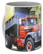 Classic Brockway Dump Truck Coffee Mug