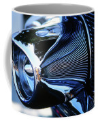 Classic Car Chrome Abstract Reflected Grill Coffee Mug