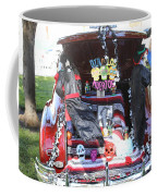 Classic Car Decor Day Of The Dead  Coffee Mug