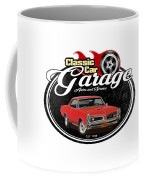 Classic Car Garage With Gto Coffee Mug