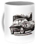 Classic Car In Classic Painting Coffee Mug