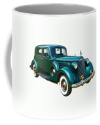 Classic Green Packard Luxury Automobile Coffee Mug