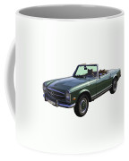 Classic Mercedes Benz 280 Sl Convertible Automobile Coffee Mug