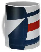 Classic Military Aircraft Abstract- Star 5 Coffee Mug
