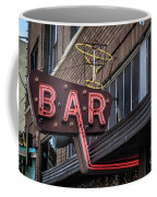 Classic Neon Sign For A Bar Livingston Montana Coffee Mug