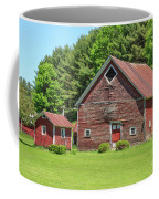 Classic Old Red Barn In Vermont Coffee Mug