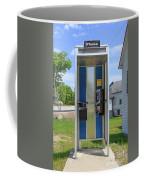 Classic Pay Phone Booth Coffee Mug