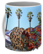 Classic Umbrellas Day Of The Dead  Coffee Mug