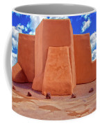 Classic View Of Ranchos Church As Oil Coffee Mug