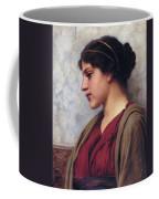 Classical Beauty John William Godward Coffee Mug
